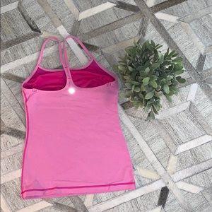 lululemon athletica Tops - Lululemon Tank w/Built in Bra Pink
